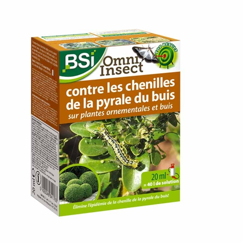 Insecticide contre la Pyrale du Buis 50 ml - Omni Insect