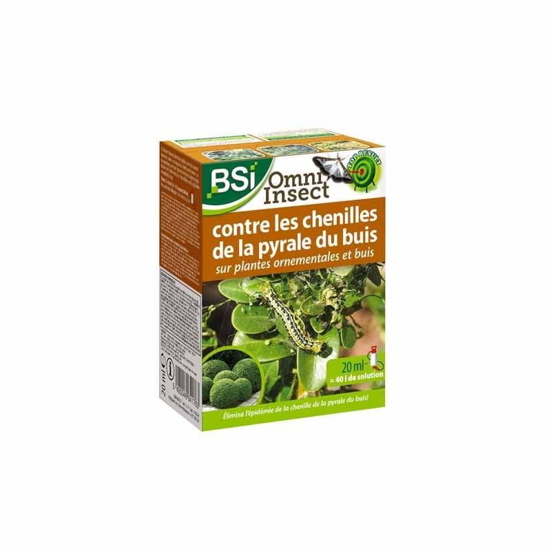 Insecticide contre la Pyrale du Buis 20 ml - Omni Insect