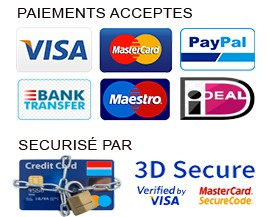 paiements acceptées
